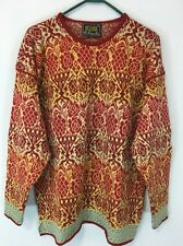 Women's Oleana The Norwegian Story Sweater. 100% Pure New Wool. Size XL. EUC!