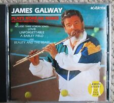 James Galway Plays Korean Songs & other Greatest Hits CD Made in Korea Clean
