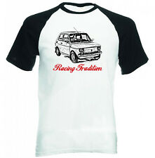 MALUCH POLISH FIAT 126 P RACING TRADITION P - COTTON TSHIRT - ALL SIZES IN STOCK