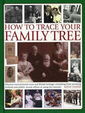 HOW TO TRACE YOUR FAMILY TREE (9780754827719) - KATHY CHATER (HARDCOVER) NEW