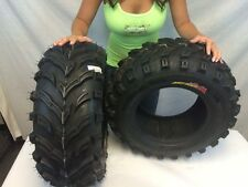 (2) 25-8-12 Front ATV GBC Dirt Devil  TIRES 6 ply 25x8x12