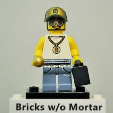 New Genuine LEGO Rapper Minifig and Boombox Series 3 8803