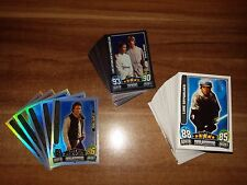Star Wars Trading Cards Movie Serie 3 162 Karten... Basis , Glanz , Force