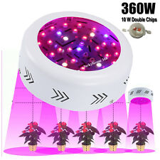 360W UFO LED Grow Light Kits Lamp for Plants Growth Flowering Veg Full Spectrum