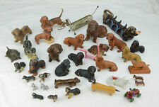 Vintage Lot of 35 Dachshund Doxie Weiner Dog Figurines Mug Holder Mail Ashtray