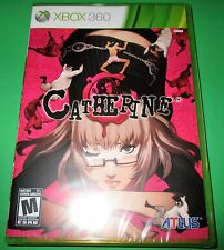 Catherine Xbox 360 -  Factory Sealed!  Free Shipping!!