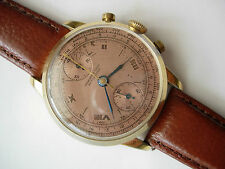 CHRONOGRAPHE SUISE Venus 170,  large dial, just full restored and serviced