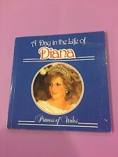 PRINCESS DIANA - A DAY IN THE LIFE SOFTCOVER BOOK - RARE