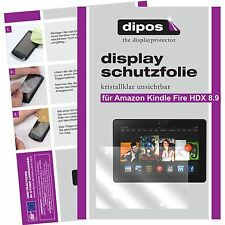 2x Amazon Kindle Fire HDX 8.9 screen protector protection crystal clear