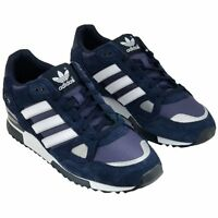 Mens ADIDAS Originals ZX 750 Trainers Suede Running Shoes (ALL SIZES) Navy/White