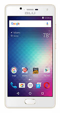 BLU Studio Touch 16GB Unlocked GSM Dual-SIM 4G Quad-Core 8MP Smartphone-Gold-New