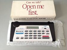Ultmost Talking Calculator New Very Rare 80s Handheld Retrogame NIB