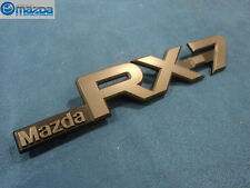 MAZDA RX-7 1986-1992 NEW OEM DRIVER SIDE REAR BLACK RX-7 EMBLEM FB02-51-720