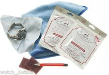 Complete Watch Care Kit for High Polish & Satin Finish - Plus Instructions