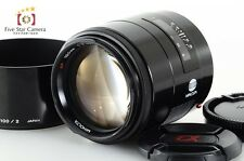 Excellent+++!! Minolta AF 100mm f/2 for Sony/Minolta A Mount from Japan