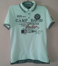 Camp David Poloshirt Freizeitshirt Tshirt Weiss Gr.M Neu
