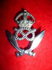 Gurkha Rifles Commemorative King's Crown Plaque or Cap Badge