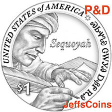 2017 P D Sacagawea Native American Sequoyah from Cherokee Indian Dollar Set s Pd