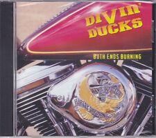 CD DIVIN DUCKS - Both Ends Burning / Hard Southern Rock Molly Hatchet / ZZ Top