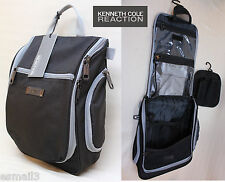 KENNETH COLE REACTION Polyseter Hanging Travel Toiletry Shave Kit Dopp Bag