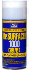 Mr Hobby Surfacer 1000 Deluxe 170ml Spray B519 GSI Creos Paint Primer Supply Can
