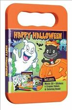 HAPPY HALLOWEEN CD  Activity Kit with Carrying Case, Stickers, Crayons and Color