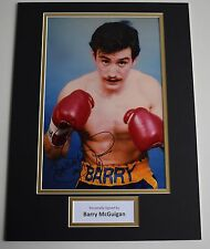 Barry McGuigan SIGNED autograph 16x12 photo display Boxing Sport AFTAL & COA