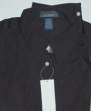 New Polo Jeans Company by Ralph Lauren Womens Shirt Blouse Medium Black