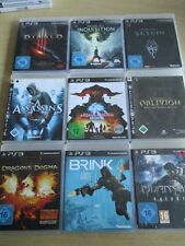 9 x sony playstation 3 ps3 jeux action