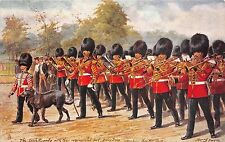 B89402 the irish guards artist signed harry payne military in london uk
