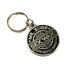 Mr Zoggs SexWax Key Ring Surf Board Accessory - New (Gun Metal)