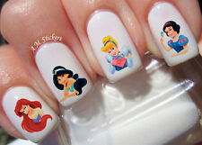 Disney Princess Nail Art Stickers Transfers Decals Set of 80