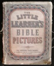 THE LITTLE LEARNER'S BIBLE PICTURES RELIGIOUS TRACT SOCIETY ILLUSTRATIONS ARK