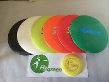 FRISBEE DISC GOLF DISCRAFT X PLASTIC BUILD YOUR OWN SET OF 6 DISKS + MINI MARKER