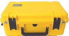 Yellow SKB Case 3i-2011-8Y-C. No wheels. With Foam