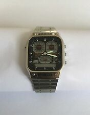 VINTAGE RETRO CITIZEN DIGITAL WATCH 8943 ROBOT FACE GN-4-S DIGI-ANA 30-0217 TEMP