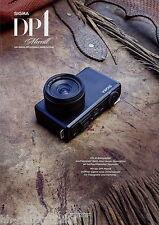 Prospetto SIGMA dp1 Merrill 2012 Digitale Fotocamera Compatta fotocamera PROSPEKT BROCHURE