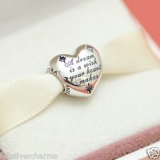 * New! Authentic Pandora Disney Park Cinderella Dream Charm 791593CFL