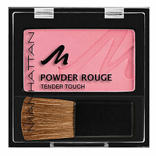Manhattan BUBBLE GUM Pressed Powder Rouge Tender Touch Blush Blusher Compact