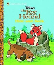 The Fox and the Hound: Hide and Seek (Little Golden Book)-ExLibrary