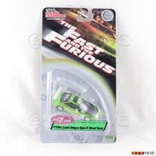 Fast and Furious 1994 green Acura Integra Type-R Street Racer Series 7