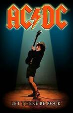 "AC/DC FLAGGE / FAHNE ""LET THERE BE ROCK"" POSTERFLAG"