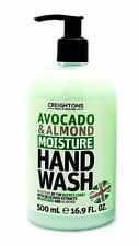 ** Creightons Aguacate & Almendra humedad lavado a mano NUEVA ** 500ml mano