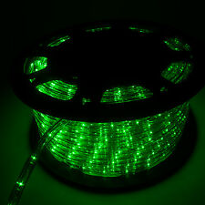 150FT LED Rope Light In/Outdoor Christmas Decorative Party Green 1620LEDS