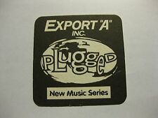 "Export ""A"" Cigarettes Beer Mat Canada Plugged New Music Series Canada"