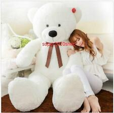 "72''/180cm100% HUGE SOFT NEW GIANT BIG PLUSH ""white ""TEDDY BEAR+EMS ship"