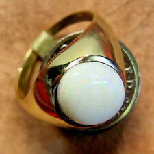 9 ct gold second hand opal ring