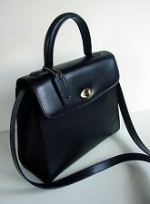AUTH COACH MADISON COLLECTION BILTMORE BLACK EMBOSSED LEATHER HOBO # 4417/ITALY