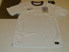 Team England 2013 Soccer Home Jersey Short Sleeves L International Federation