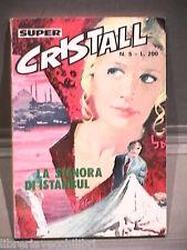 SUPER CRISTALL Editrice Universo 1974 N 5 Fumetti Narrativa per Ragazzi Racconto